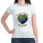 LoveYourEarth Jr. Ringer T-Shirt