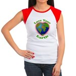 LoveYourEarth Women's Cap Sleeve T-Shirt