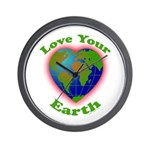 LoveYourEarth Wall Clock