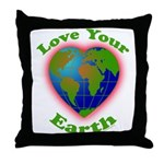 LoveYourEarth Throw Pillow