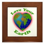 LoveYourEarth Framed Tile