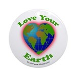 LoveYourEarth Ornament (Round)