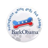 Portuguese water dogs fur Obama Dog T-Shirt