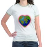 Earth Heart Jr. Ringer T-Shirt