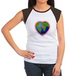 Earth Heart Women's Cap Sleeve T-Shirt