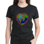 Earth Heart Women's Dark T-Shirt