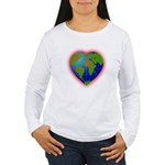 Earth Heart Women's Long Sleeve T-Shirt