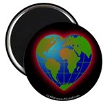 Earth Heart Magnet