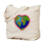 Earth Heart Tote Bag