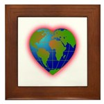 Earth Heart Framed Tile