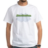 "Levitation ""Crosswalks"" Tee (white)"