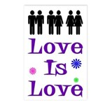 Love is Love (Pack of 8 Postcards)