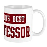 Worlds best Professor Small Mug