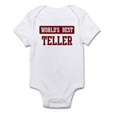 Worlds best Teller Infant Bodysuit