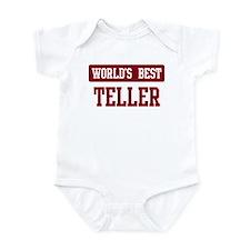 Worlds best Teller Infant Bodysuit