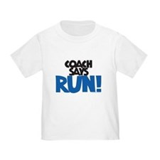 Coach says: Run! T