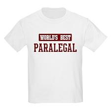 Worlds best Paralegal T-Shirt