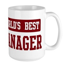 Worlds best Manager Mug