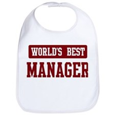 Worlds best Manager Bib