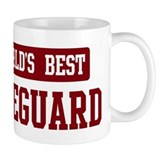 Worlds best Lifeguard Small Mugs