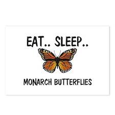 Eat ... Sleep ... MONARCH BUTTERFLIES Postcards (P