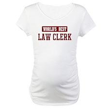 Worlds best Law Clerk Shirt