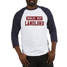 Worlds best Landlord Baseball Jersey