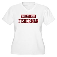 Worlds best Fisherman T-Shirt