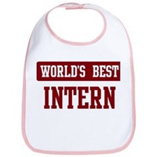 Worlds best Intern Bib