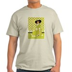Lady in Green Light T-Shirt