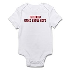 Worlds best Game Show Host Infant Bodysuit