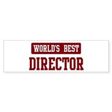 Worlds best Director Bumper Sticker (50 pk)