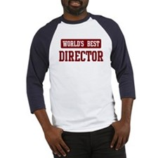 Worlds best Director Baseball Jersey