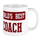 Worlds best Coach Small Mugs