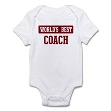Worlds best Coach Infant Bodysuit