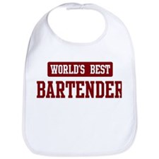 Worlds best Bartender Bib