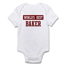 Worlds best Baker Onesie