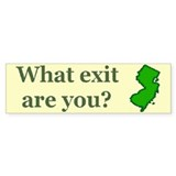 What exit are you? Bumper Sticker (50 pk)