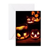 Halloween Tricks and Treats Greeting Card