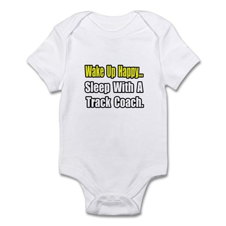 """..Sleep w/ Track Coach"" Infant Bodysuit"