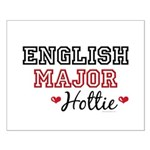 English Major Hottie Small Poster
