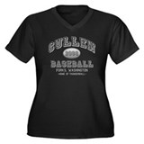 Cullen Baseball 2008 Women's Plus Size V-Neck Dark