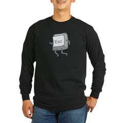 Esc Long Sleeve Dark T-Shirt