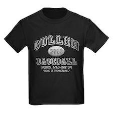 Cullen Baseball 2009 Kids Dark T-Shirt