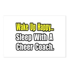 """..Sleep w/ Cheer Coach"" Postcards (Package of 8)"