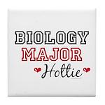 Biology Major Hottie Tile Coaster