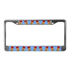 Jar of Peanut Butter License Plate Frame