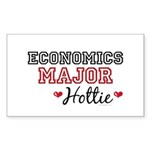 Economics Major Hottie Rectangle Sticker 10 pk)