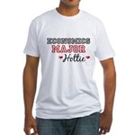 Economics Major Hottie Fitted T-Shirt