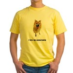 Pomeranian Lover Yellow T-Shirt